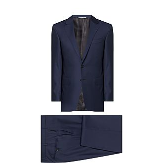 Two-Piece Twill Suit