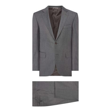 Textured Sharkskin Drop 7 Suit, ${color}