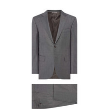 Textured Sharkskin Drop 7 Suit