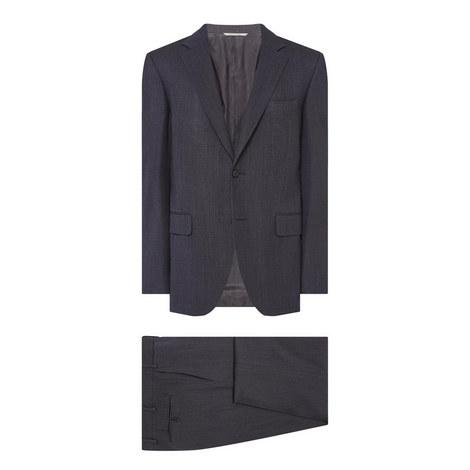 Two-Piece Col 112 Pin Dot Suit, ${color}