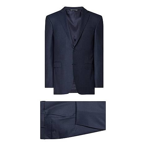 Two-Piece Textured Drop 8 Suit, ${color}