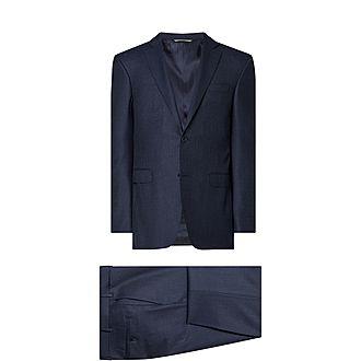 Two-Piece Textured Drop 8 Suit