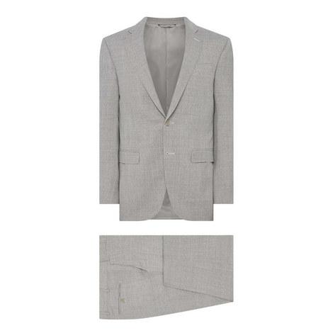 Textured Motif Drop 8 Suit, ${color}