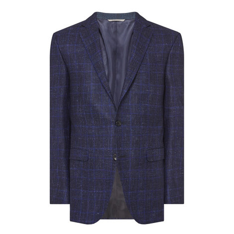 Col 301 Check Sports Jacket, ${color}