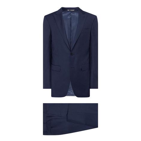 Twill Weave Drop 8 Suit, ${color}