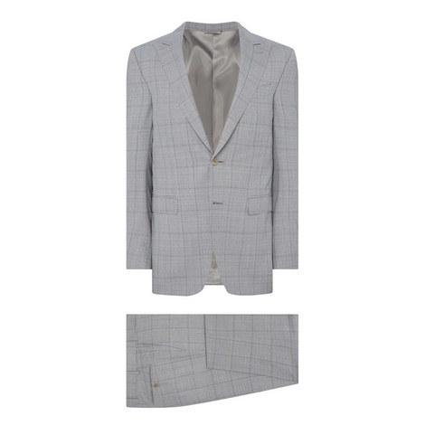 Check Pattern Drop 8 Suit, ${color}