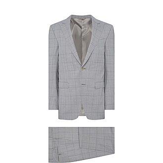 Check Pattern Drop 8 Suit
