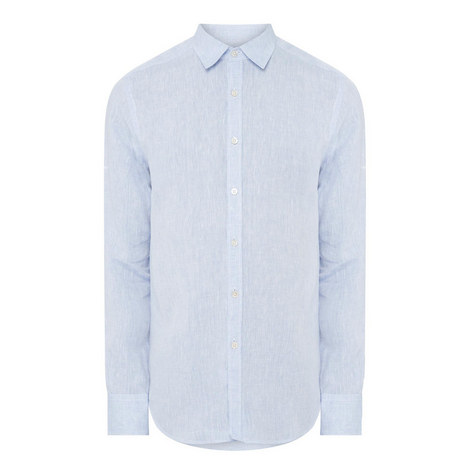 Washed Linen Shirt, ${color}