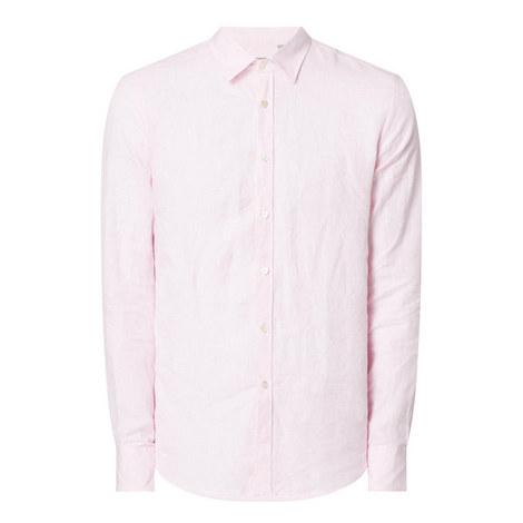 Washed Linen Shirt, ${color}
