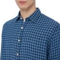 Linen Check Shirt, ${color}