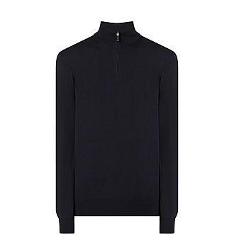Wool Half-Zip Sweatshirt