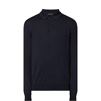 Cashmere Silk Blend Polo Shirt