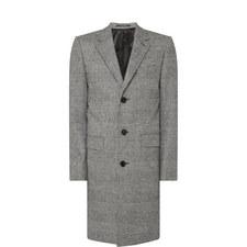 Retro Check Overcoat