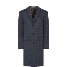 Retro Check Overcoat