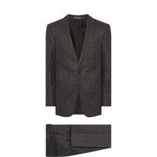 Two-Piece Chalk Striped Suit