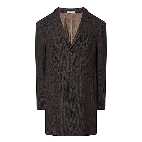 Check Lined Overcoat, ${color}