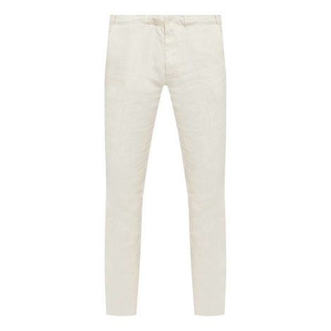 Relaxed Linen Trousers, ${color}