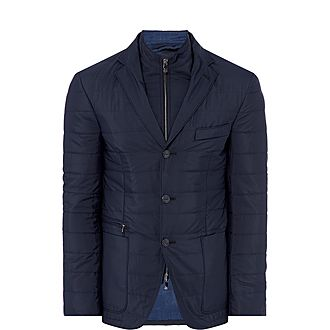 Quilted Removable Chest Jacket