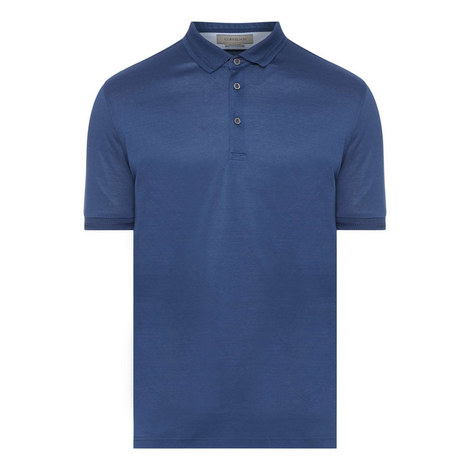 Mercer Contrast Sleeve Polo Shirt, ${color}
