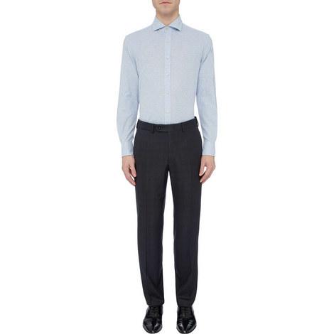 Textured Jersey Shirt, ${color}