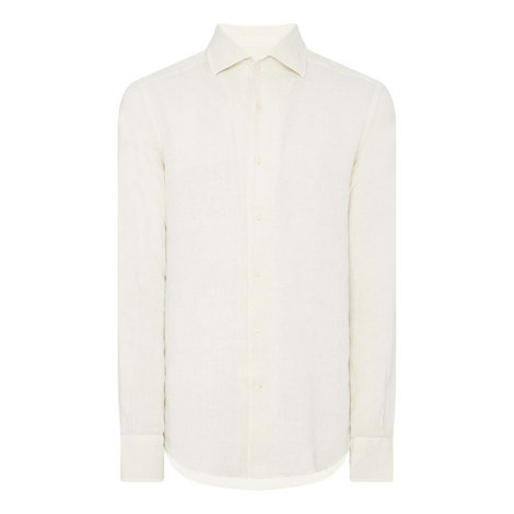 ID Washed Linen Shirt, ${color}