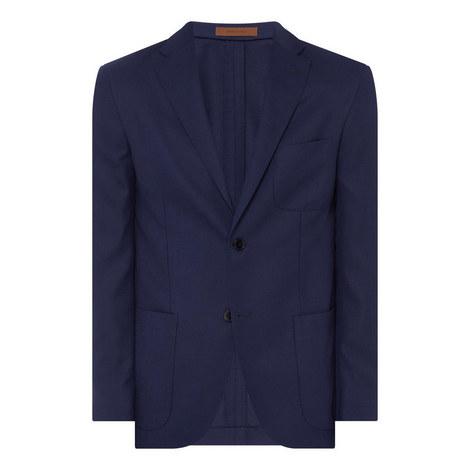 Textured Blazer Jacket, ${color}