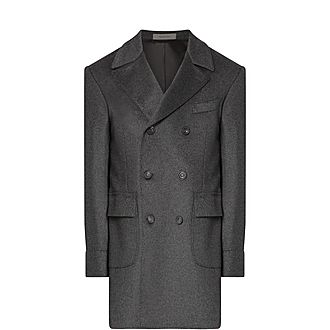 Cashmere Double Breasted Coat