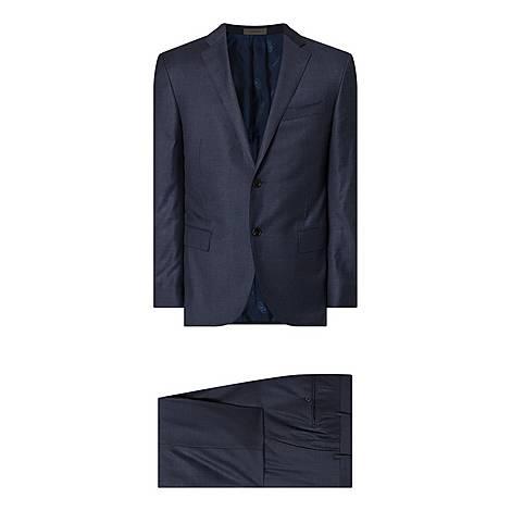 Mid Tonal Check Suit, ${color}