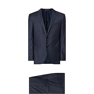 Mid Tonal Check Suit