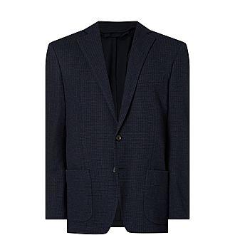 Micro-Check Jacket