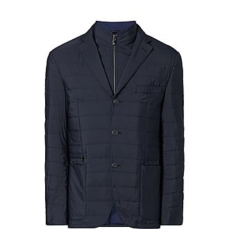 Quilted Removable Lining Jacket