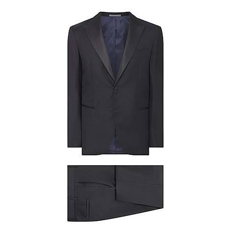 Peaked Lapel Tuxedo, ${color}