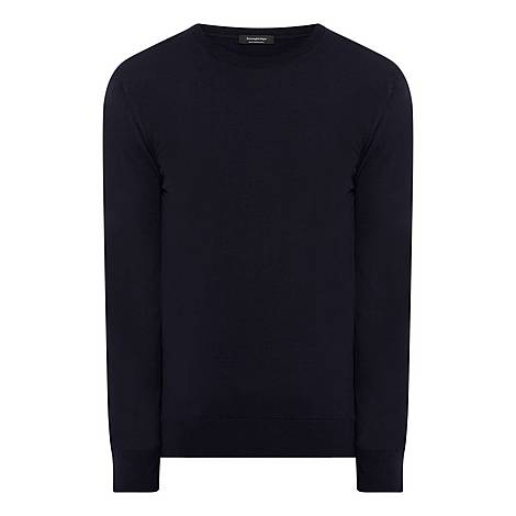 High Performance Crew Neck Sweater, ${color}