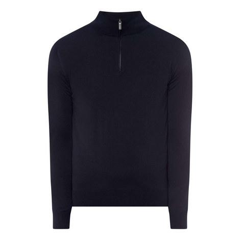 High Performance Half-Zip Sweater, ${color}
