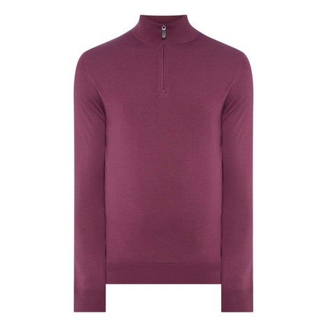Half-Zip Performance Sweater, ${color}