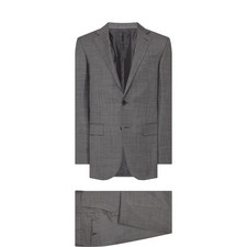 Two-Piece Textured Suit