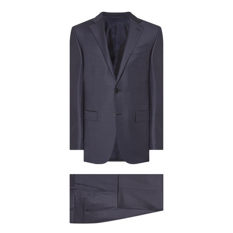 Two-Piece Textured Suit, ${color}