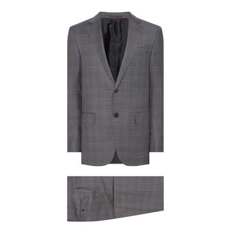 Two-Piece Achillfarm Check Suit, ${color}