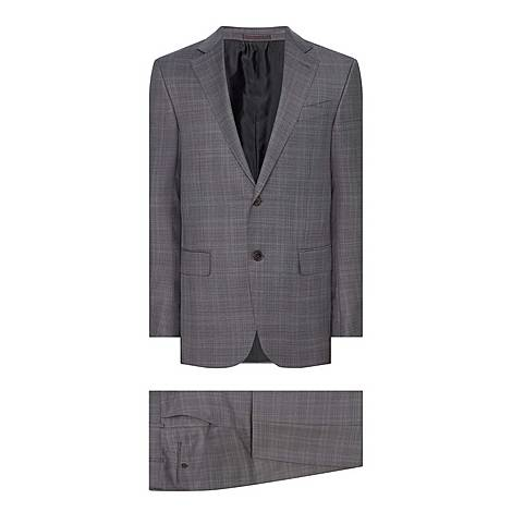 Two-Piece Achillfarm Check Suit, ${color}