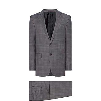 Two-Piece Achillfarm Check Suit