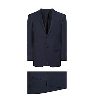 Feint Textured Suit