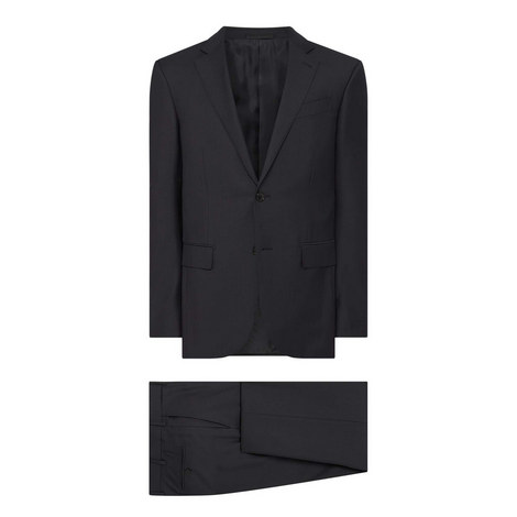 Feint Striped Two Piece Suit, ${color}