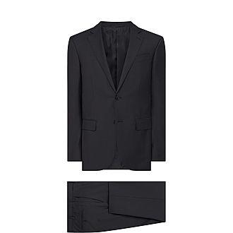 Feint Striped Two Piece Suit