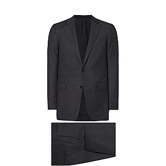 Tonal Check Suit