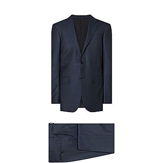 Micro Check Suit