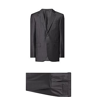 Two-Piece Micro Textured Suit