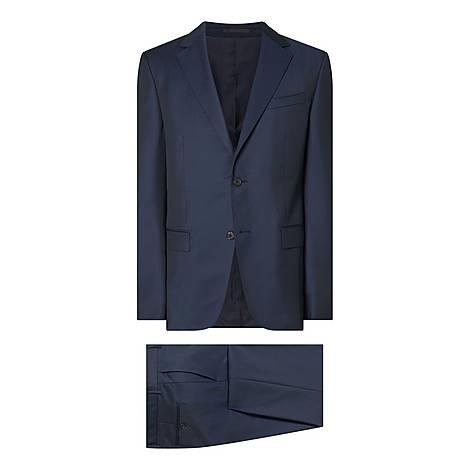 Wool Mohair D8 Suit, ${color}