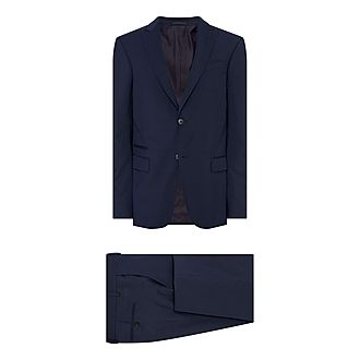 Tonal Checked Suit