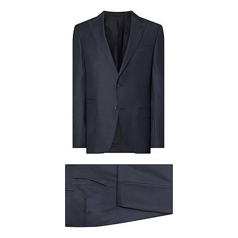 Textured Peak Drop 8 Suit, ${color}