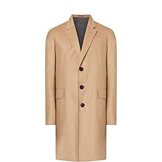 Contrast Classic Overcoat